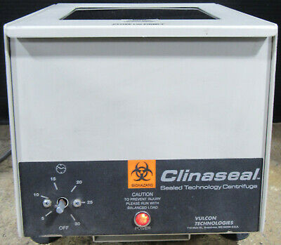 Clinaseal CS-6C Sealed Technology Centrifuge 1994 w/ 6 Tubes Tested and Working