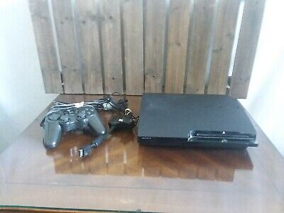 Sony PlayStation 3 Slim 320GB Black Video Game Console CECH-2501B Parts Only