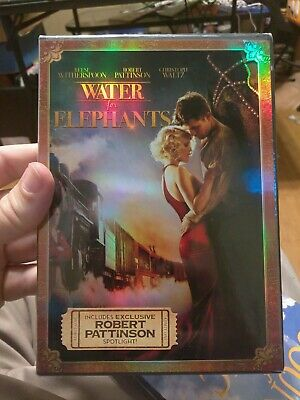 """""""WATER FOR ELEPHANTS"""" (Drama) DVD Movie, (Reese Witherspoon), NEW! SEALED!"""