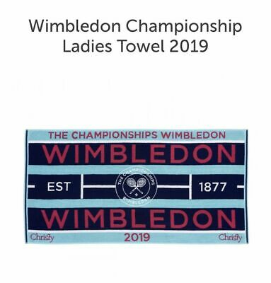Ladies Wimbledon Towel - Official 2019 Tennis Championships - Fast Shipping