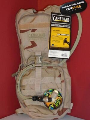 CAMELBAK AMBUSH Desert 3L 100oz Maximum Gear MILITARY HYDRATION PACK  NEW!