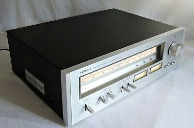 Vintage 1977 Hitachi FT 920 Stereo AM FM Tuner Made in Japan Excellent Condition
