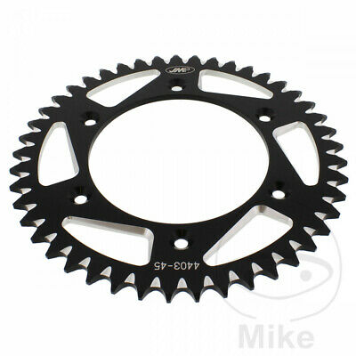 For KTM EXC 400 2010 JMP Black Aluminium Rear Sprocket (43 Teeth)