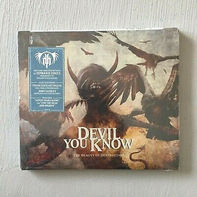 Devil You Know -The Beauty of Destruction US CD Digipak Mint, Still Sealed
