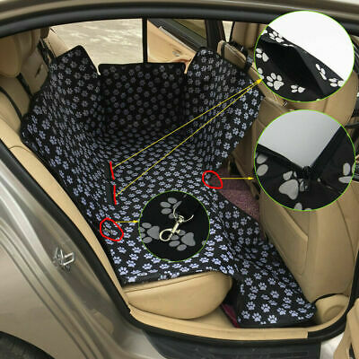 Pet Dog Car Seat Cover Travel Hammock Waterproof Vehicle Back Seat Protector Mat
