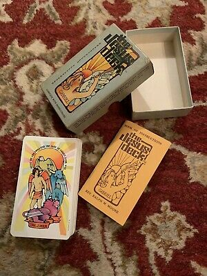 Vtg 1972 The Jesus Deck Rev. Ralph Moore 54 Card Deck Manual Box Tarot Cards