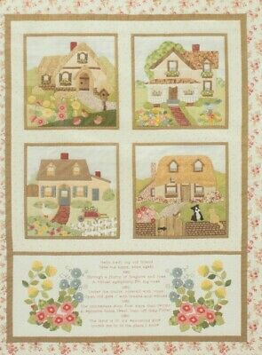 Welcome Home - pretty applique & pieced quilt PATTERN - Brandywine