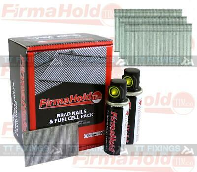 Firmahold 16g Second Fix Straight Brads Gas Cell Paslode Compatible collated