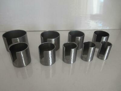 "New Steel Clock Mainspring Winder Tool Sleeves: Sizes 1"" - 2.25"" (25mm - 57mm)"