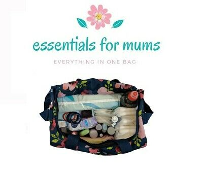 Maternity/ Hospital Pre-Packed Flowers Bag Newborn Baby Mum-To-Be 70+ Items