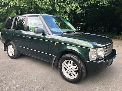 2003 Range Rover Vogue Se 3.0 Td6 Epsom Green High Spec Full History 4X4
