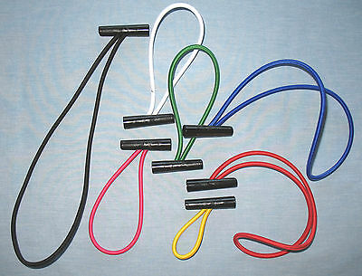 Large Toggle & Loop Bungee / Elastic Rope / Shock Cord: Choose Colour and Length