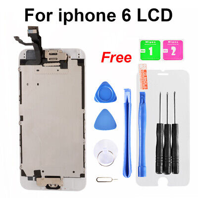 For iPhone 6 Screen Replacement LCD Touch Display Digitizer + Home Button TE1093