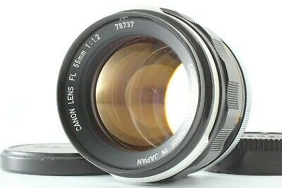 Canon FL 55mm f1.2 35mm Film Camera Mf Lens [Excellent+++++]  From Japan 188