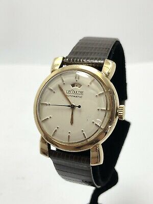 Le Coultre 10k Gold Filled Automatic Bumper Model 481cal