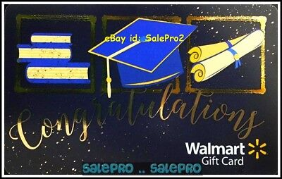 Walmart High School Graduation Congratulations #Fd56563 Collectible Gift Card