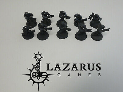 Warhammer 40k Tau T'au Empire - 10 Fire Warriors, primed