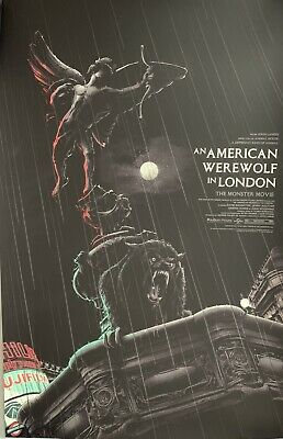 American Werewolf In London Matt Ryan Tobin Variant Signed AP Horror Art Mondo