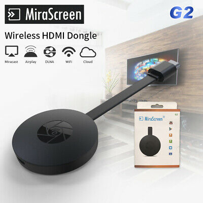 1080p MiraScreen G2 TV Stick Wireless Dongle Miracast Airplay DLNA WiFi HD Media