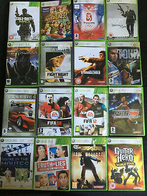 18 Games - Xbox 360 Bundle - FIFA, Call of Duty, Guitar Hero, 007, and more!