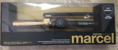 "PAUL MITCHELL PROTOOLS EXPRESS GOLD CURL 1.25"" Marcel SHIPS FAST"