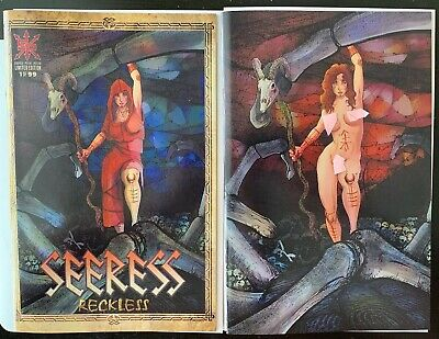 Seeress Reckless #1 Source Point Press NM An0maly Virgin Trade Comics Exclusive