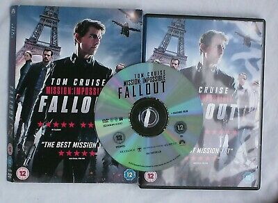 Mission: Impossible - Fallout DVD (2018) Tom Cruise