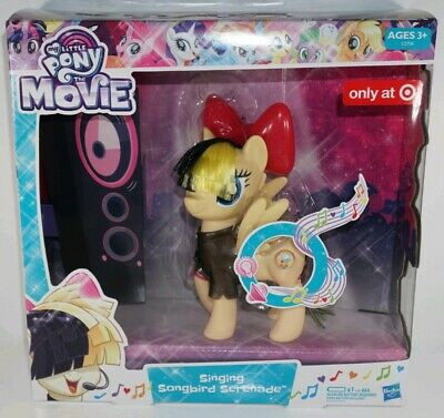 12b971ee164 My Little Pony The Movie Singing Songbird SERENADE Sings Bow Lights Up  Target
