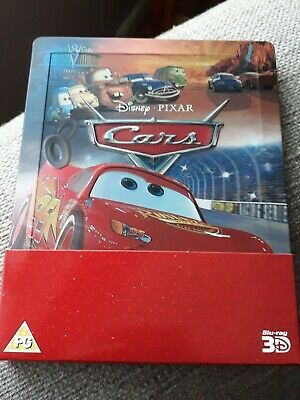 Cars 3D/2D Blu Ray Steelbook - Disney Pixar - Owen Wilson