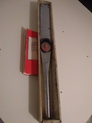 Vintage Sears Craftsman Torque Wrench  1/2 inch drive
