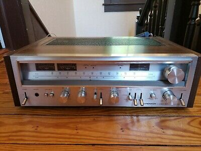 Vintage pioneer Stereo Receiver SX 780 amazing clear sound tested pioneer sx