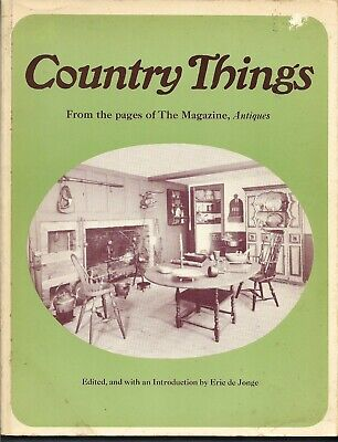 Country Things PB-from The Magazine, Antiques-1973-341 pages-1st Edition