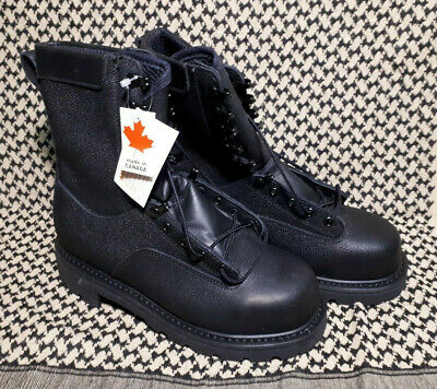 Canadian Forces Army Temperate Weather Safety Boots Size 245/100 CSA NWT