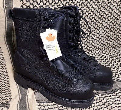 Canadian Forces Army Temperate Weather Safety Boots Size 250/98 CSA NWT