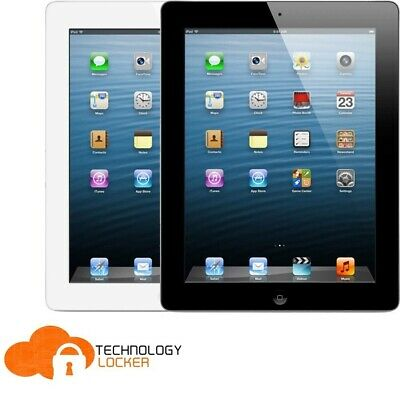 """Apple A1458 iPad 4th Gen 16GB WiFi only 9.7"""" Tablet w/ New Charger + New ear bud"""
