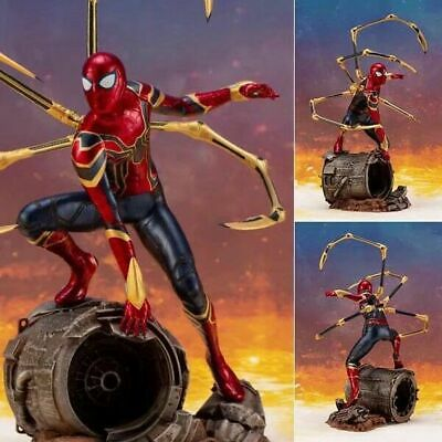 Super Hero Infinity War Iron Spider-Man 1/10 Scale PVC Figure Statue New Toy NB