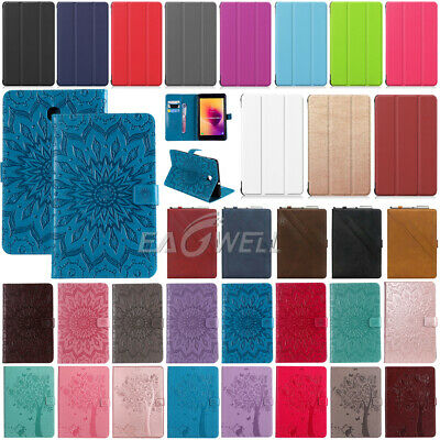 """For Samsung Galaxy Tab A 8.0"""" 2018 Tablet Various Smart Flip Leather Cover Case"""