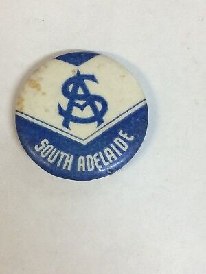 South Adelaide Football Club Button Badge Pin SANFL