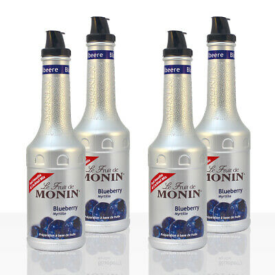 Monin FruchtPüree Mix Blueberry Heidelbeere 4 x 1l