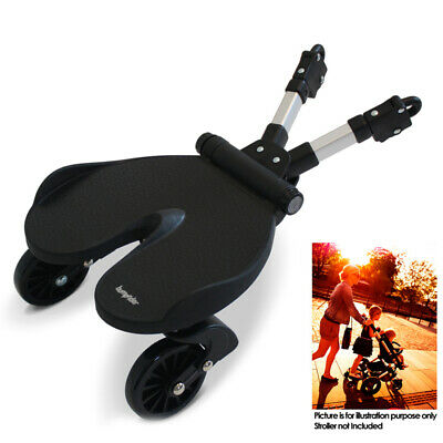 Bumprider ABR1-BK Strollers Prams Universal Standing Board Connector for Toddler