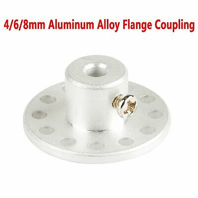 4mm/6mm/8mm Aluminum Alloy Flange Coupling Connected Shaft Bracket Replacement
