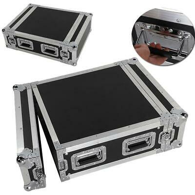 Durable 19 Inch Space Rack Case Single LayerDouble Door 4U DJ Equipment Cabinet