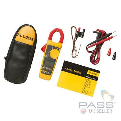NEW Fluke 325 400A AC/DC True RMS Clamp Meter + Carry Case, Leads & 2YR Warranty