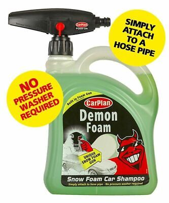 CarPlan Demon Snow Foam Car Shampoo with Built in Gun 2 Litre