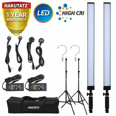 Continuous LED Lighting Kit for Video and Photography Studio 600W 5400K Hakutatz