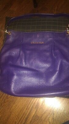 352d3bdf9 MICHAEL KORS PURPLE Handbag Large W/Crossbody Strap And Dustbag, EUC ...