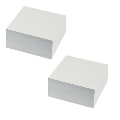 Esselte Home/Work Stationery 1000 Sheets Memo Cube Paper Refill 95 x 95mm WHT