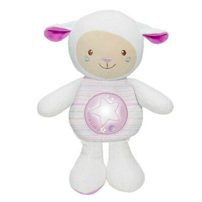 Chicco Lullaby Sheep Baby Night light/Toy w/Voice Recorder/Sound Sensor 0m+ Pink