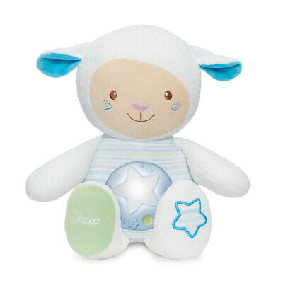 Chicco Lullaby Sheep Baby Night light/Toy w/Voice Recorder/Sound Sensor 0m+ Blue