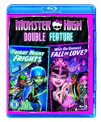 Monster High: Friday Night Frights/Why Do Ghouls Fall in Love? (Blu-Ray)